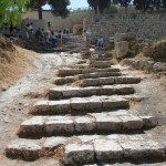 2,000 year-old steps leading to Temple