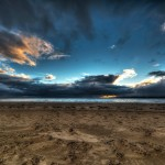 Barren Beach-Gorgeous Sky