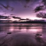 Purple Water-Sky