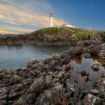 Fanad Head Lighthouse - Rock Pool View